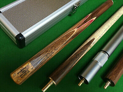 "Brand New 3/4 Handmade Zebrawood ASH 57"" Snooker Cue  / Pool Cue"