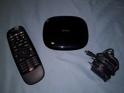 Logitech Harmony Smart Control Hub and Remote O-R0004