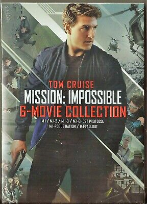 Mission: Impossible 6-Movie Collection DVD Tom Cruise BRAND NEW