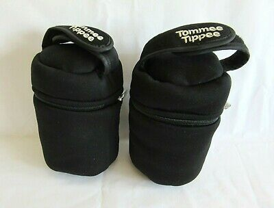 Tommee Tippee Insulated Bottle Bags X2 Used Good Condition A8
