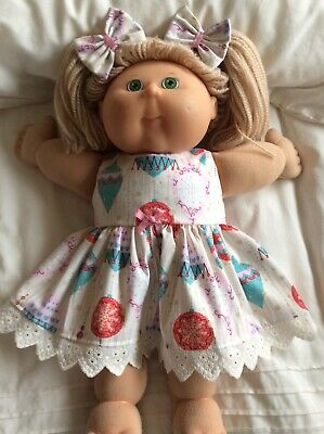 "DOLL  CLOTHES  TO Fit  CABBAGE  PATCH  16"" DOLLS ~ Christmas Baubles"