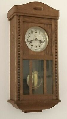 Mundial Suisa Antique Wall Clock