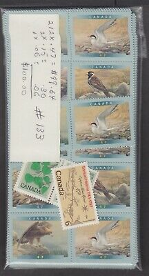 Canada Mint Postage Lot $100.00 Mnh Face For $70.00 See List #133