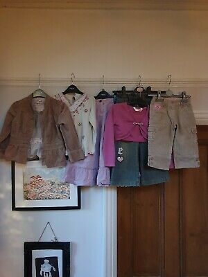 Bundle Of Girls Winter Clothes Age 4-5  Mainly Next