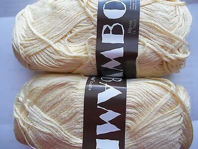 181 yds ea lot of 2 pale variegated pastels MeiMei Bamboo 100/% bamboo yarn