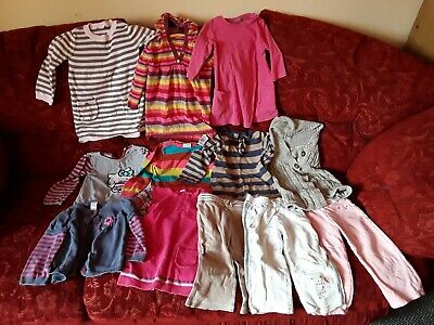 Girls Clothing Bundle,  12 Items, Ages 1-2 Years (Next, Marks and Spencer)