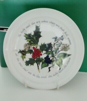 Medium 220mm dia Plate - Portmeirion The Holly and the Ivy Tableware