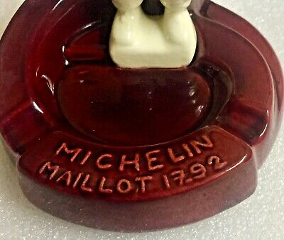 RARE MICHELIN 1960s ASHTRAY