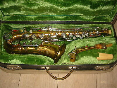 "Beautiful old  Alto saxophone ""Lignatone Classic Amati Craslice"""