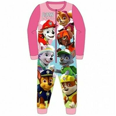 Girls Paw Patrol All In One Piece Character Childrens Pyjamas Age 2-3 Years