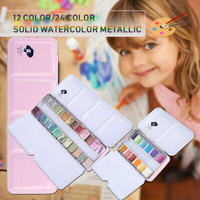 39FB Glitter Solid Watercolor Pigment Paint Watercolor Paints Crafts Stationery