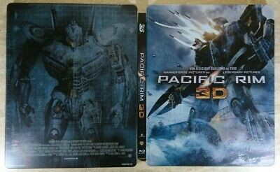 PACIFIC RIM - Bluray 2D / 3D Steelbook, Limited Edition!
