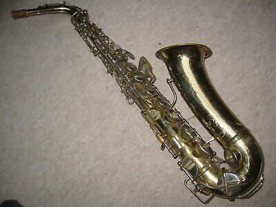 "Very old Saxophone ""York Master Grand Rapids Mich. USA 133556""  repair project"