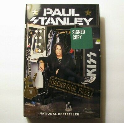 *Paul Stanley Signed Special Ltd/Ed. *Backstage Pass* - Kiss – Gene Simmons*