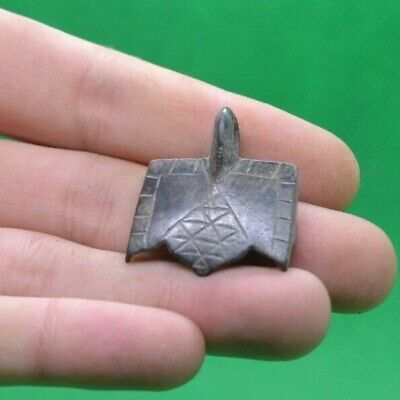 Superb Ancient Celtic Druids Bronze Amulet - 200/100 Bc
