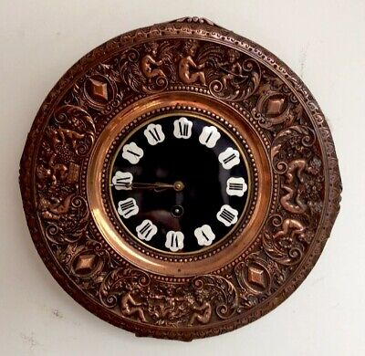 Antique Plate Wall Clock By Idox