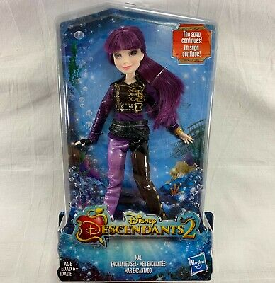 "Hasbro Disney Descendants 2 Mal ""Enchanted Sea"" Doll 12 Inch"