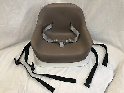 OXO Tot Nest Booster Seat With Straps - Brown/Taupe