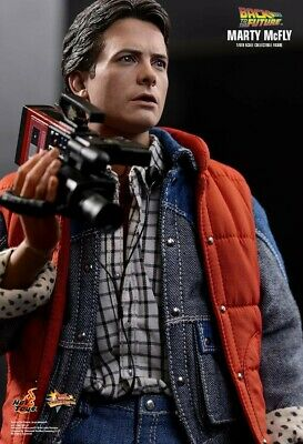 Hot Toys MMS 257 Back To The Future Marty McFly Michael J. Fox, Never Displayed