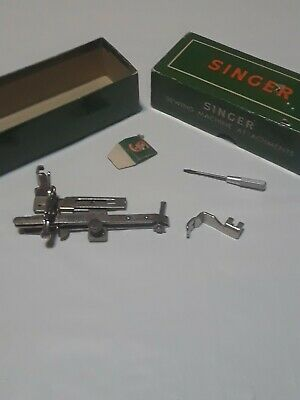 Lot Of 2 Original Singer Sewing Machine Feet Attachments For Class 301 160623