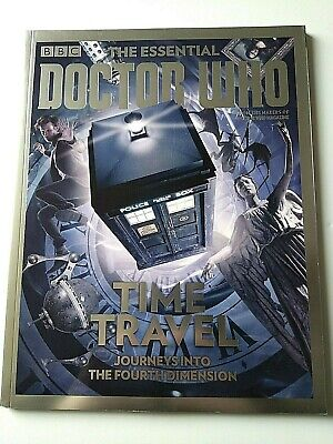 BBC The Essential Doctor Who Time Travel Journeys Into The 4th Dimension Mag #12