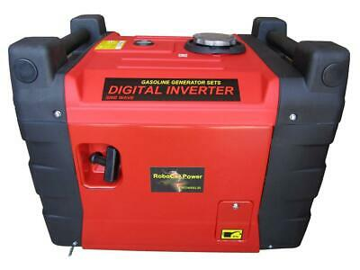 5.5 Kva Inverter Generator ,Silenced With Electric Wireless Remote Start ,Lcd