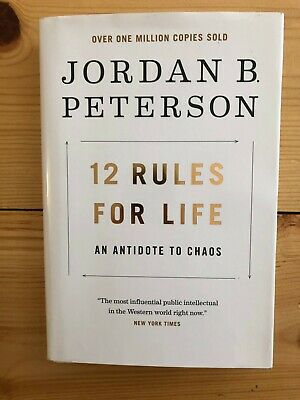 12 Rules For Life by Jordan Peterson HC DJ