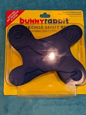Bunny Rappit Flexible Child Safety Guards ☆A Must For Childrens Safety☆Blue NEW