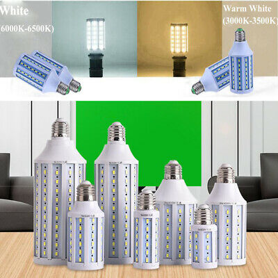 20/30/40/80/100W E27 B22 E40 LED Corn Light Bulb Ultra Bright Non-dimmable Lamp