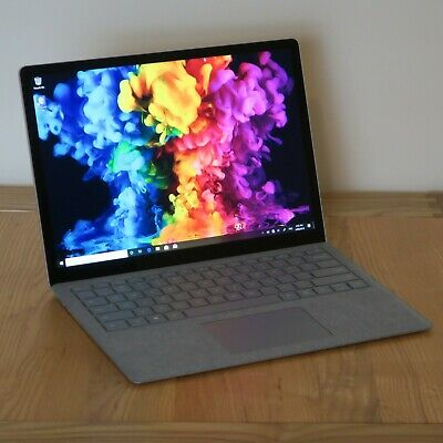 Microsoft Surface Laptop, i7-7660U, 256GB SSD, 8GB RAM, Win 10 Pro