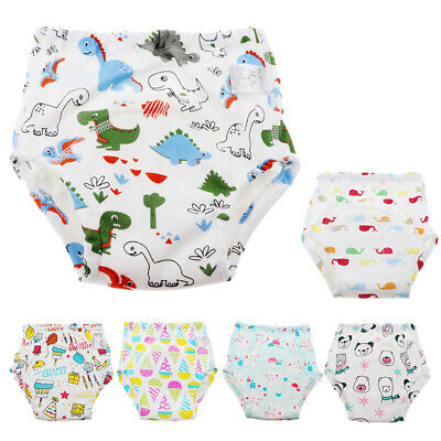 Kids Baby Boys Girls 6 Layers Toddler Pants Cotton Underwear