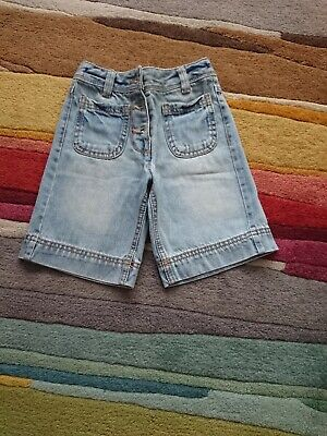 Girls denim culottes Next Age 3 Great Condition