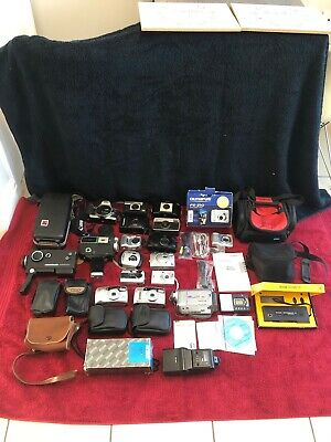 Joblot Of Cameras / Camcorders Bags Some Vintage