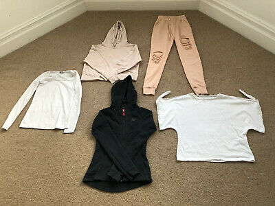 5 x Girls/Women's Clothes Bundle Includes Nike,H&M Misguided & Zara Size UK4-8