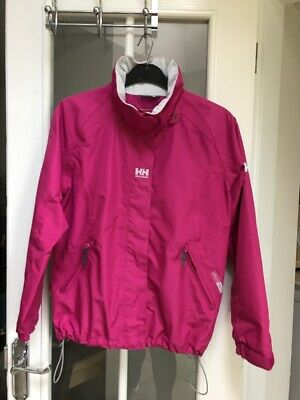 Helly Hansen Girl's Jacket In Pink To Fit Age 12 Years /152cm