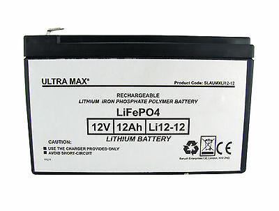 Csb Gp 12120 F2 (GP12120F2) Remplacement Rechargeable Lithium 12V 12Ah Batterie