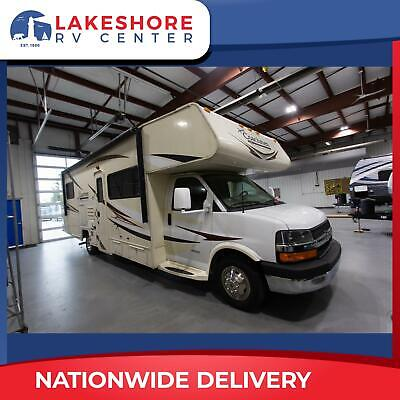 2015 USED Motorhome Coachmen Freelander 29KS Mid Kitchen Rear Bed Camper RV