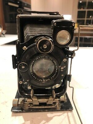 Butcher Cameo plate folding camera c1910-20s