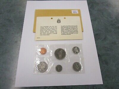 1968 Canada Prooflike 6 Coin Original Set