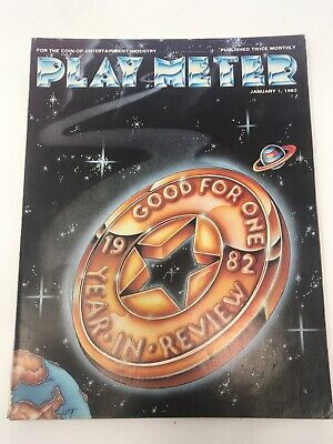 Play Meter Magazine January 1983 Pinball Video Games Year In Review
