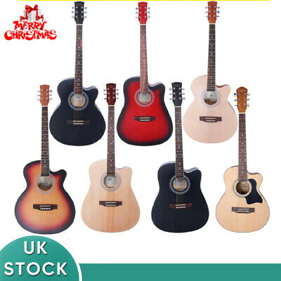Beginner Adult Student Full Size Acoustic Guitar Pack Starter Package Outfit