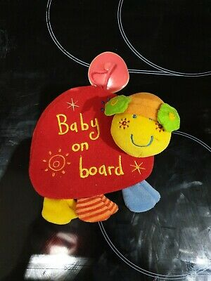 Mamas And Papas Baby On Board Sign