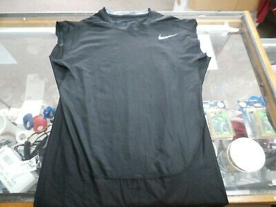 Nike Men's Sleeveless Compression Shirt Size Large Black #36256