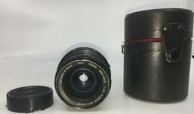 Sigma Zoom MINI WIDE 1:2.8 F=28MM CAMERA LENS JAPAN FOR CANON W CASE