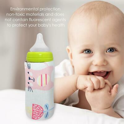 USB Bottle Warmer Outdoor Portable Baby Milk Feeding Insulated Bags (Cat