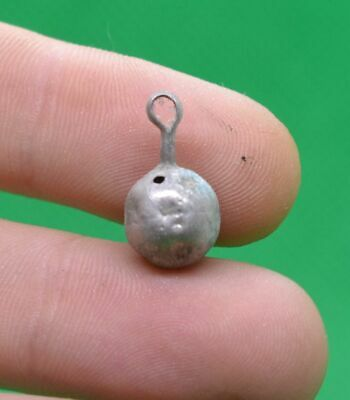 Ancient Celtic Druids Silver  Amulet Pendant For Aromatic Oils - 200/100 Bc