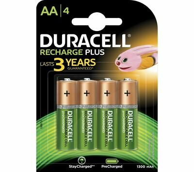 DURACELL AA NiMH Rechargeable Batteries - Pack of 4 - Currys