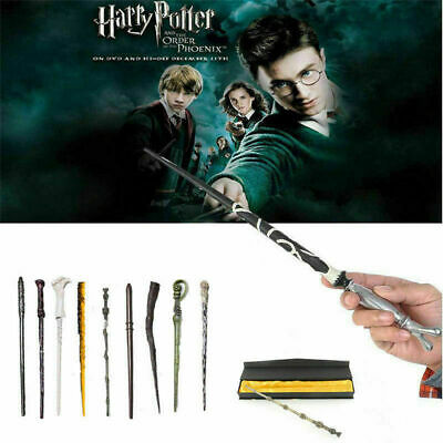 Harry Potter Magic Boxed Hermione Dumbledore Voldemort Wand Xmas Cosplay Gift UK