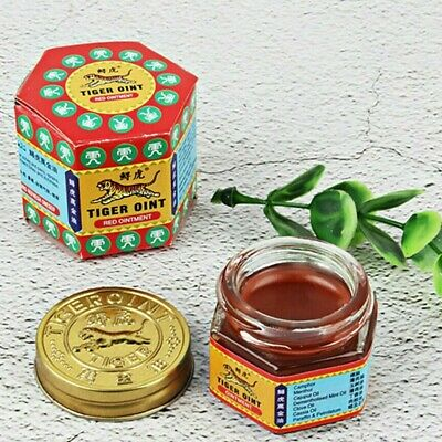 Original RED TIGER BALM Herb Massage Ointment Relief Pain Bugs Anti Insect Bugs