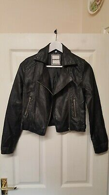 New Look Generation 915 Cool Black Jean Jacket Size 12/13 17 Inch Pit Brand New.